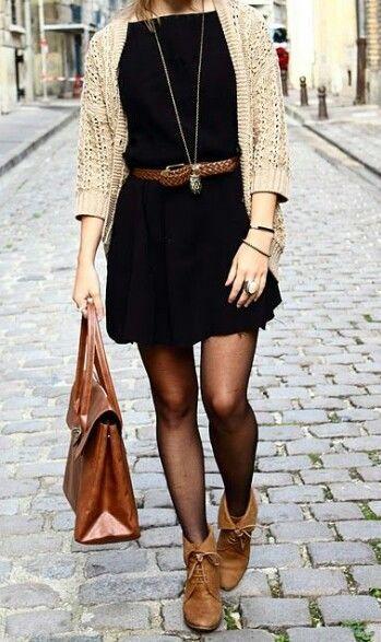 Como Combinar Un Vestido Negro 5 Outfits Para Cualquier Ocasiu00f3n