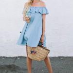vestidos Escote Bardot