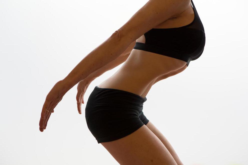 postura y vientre plano