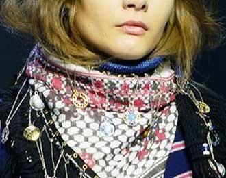 como usar una bufanda palestina
