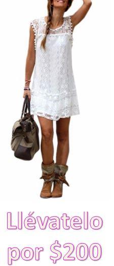 comprar vestido blanco