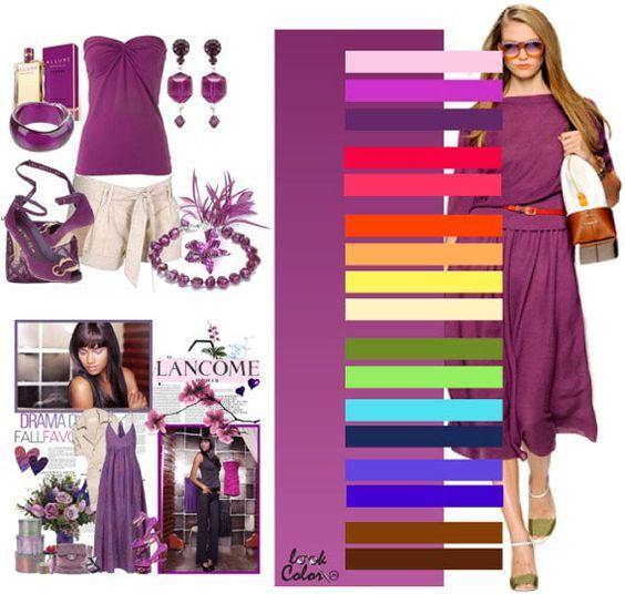 Zapatos para combinar un vestido morado te van a encantar - Combinar color lila ...