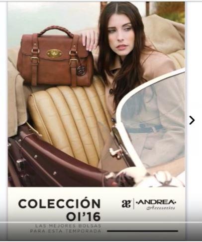 Catálogo Andrea Colección Accesorios 2016
