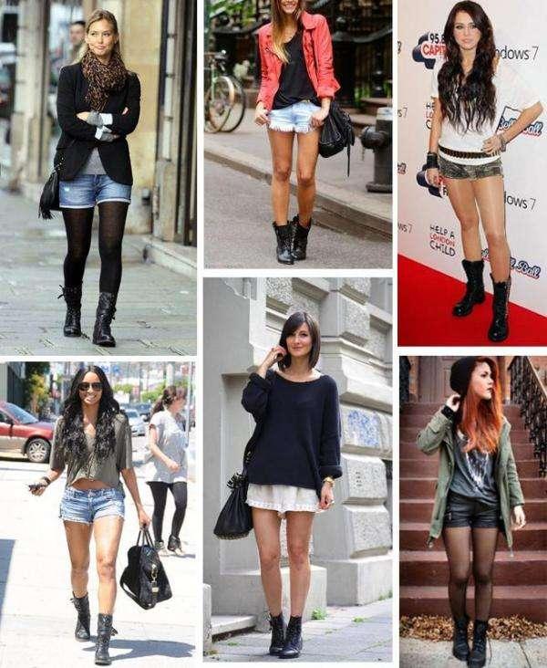 botas estilo militar para mujer marcas