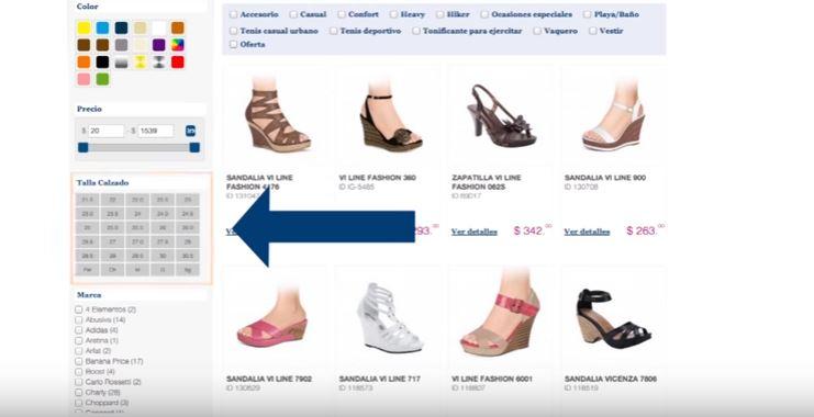 como levantar un pedido en price shoes