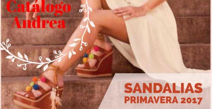 catalogo andrea sandalias primavera 2017
