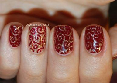 decoracion-de-uñas-rojas-y-negras