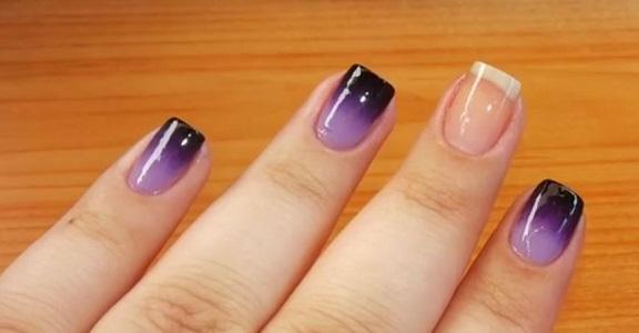 decoración de uñas con esponja