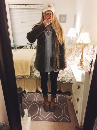 outfit lluvia y calor