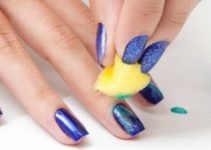 pasos para decorar las uñas con esponja
