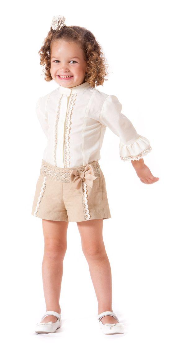 shorts para niña