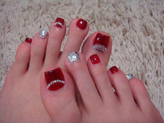 tonos elegantes para la decoracion de uñas