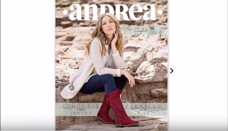 7ad88e62 Catálogo ANDREA CONFORT Otoño - Invierno 2016 - Ropa-para.net