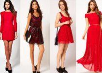 Que Encantaran Vestido Ideas Qué Te Zapatos Un Usar Con Rojo7 O80NXnwPkZ