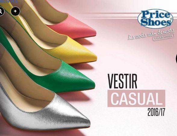 d6d78d58da Catálogo Price Shoes Vestir Casual 2016 - 2017 Nuevo!! COMPLETO