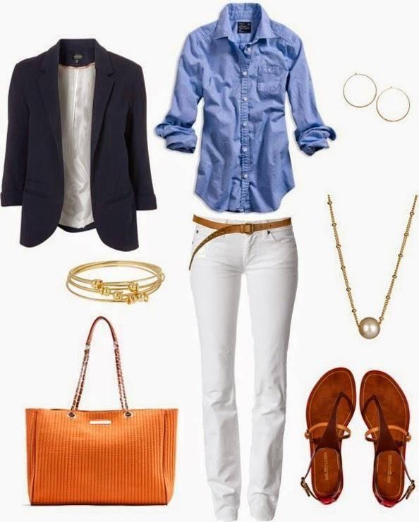 Cómo Combinar Un Pantalón Blanco 36 Ideas Que Te Van A Encantar