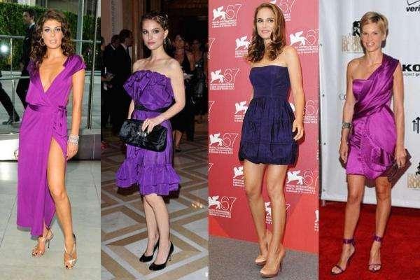 Nina Purple Dress Shoes