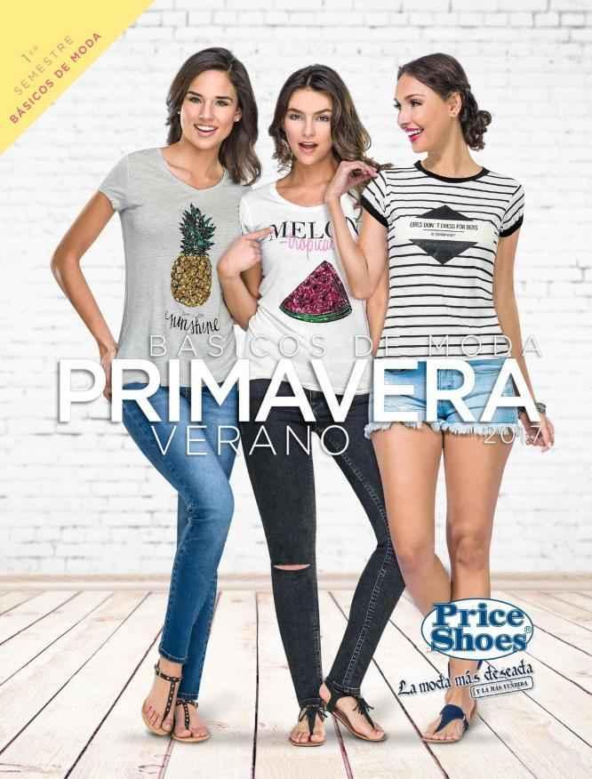 1f89b40a Catálogo Price Shoes Básicos de MODA Primavera Verano 2017 - Ropa ...