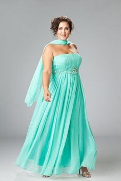 Evening dresses for chubby colors