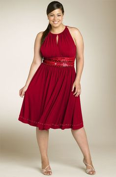 evening dress with belt