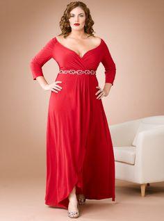 Vestidos elegantes para mujeres gordas