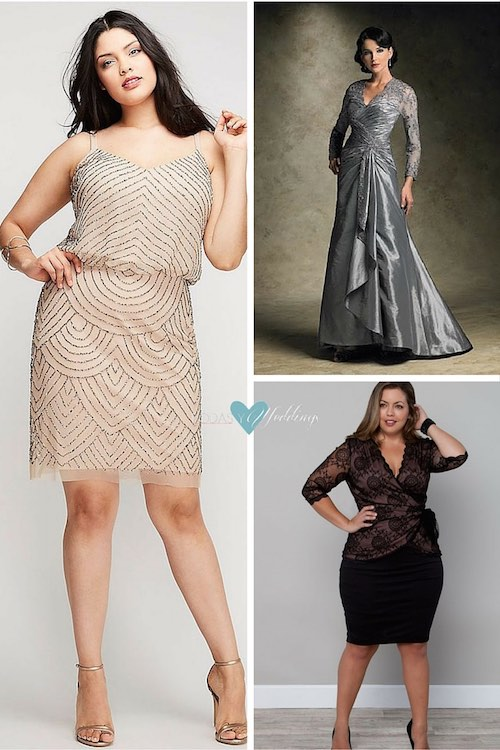 party dresses for chubby