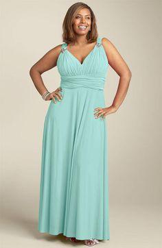 evening dresses with neckline