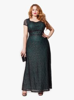 Evening dresses for chubby colors 2
