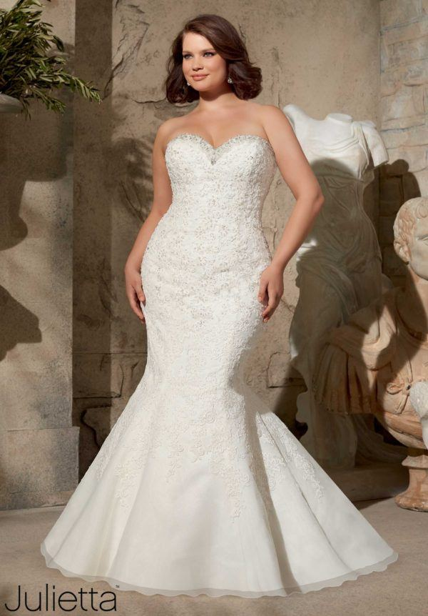 wedding dresses with neckline