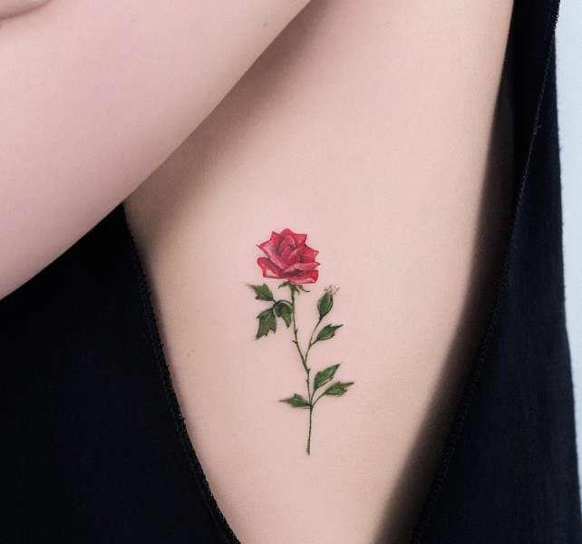 Tatuajes De Rosas Significado De Sus Colores Imágenes